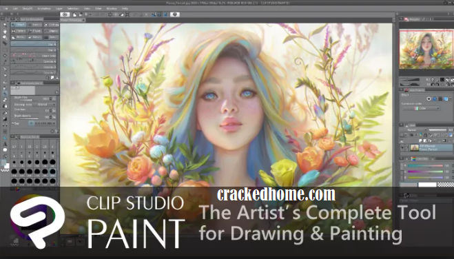 Clip Studio Paint 1.9.3 Crack